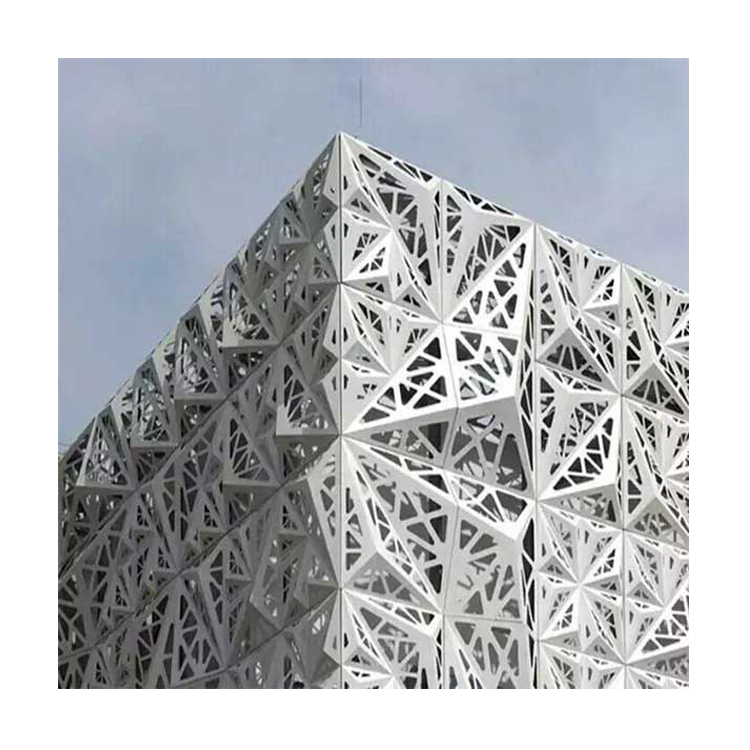 High Quality Exterior Wall Aluminum decorative Material Carved Cladding Aluminium Exterior 3d Wall Cladding