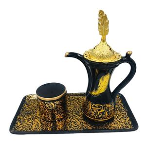2020 Factory Wholesale Arab New Creative Design Ceramic Incense Burner Mug Shape Incense Burner