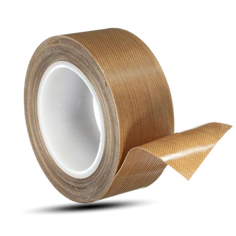 0.13Mm*25Mm*10M Water-Proofing Non-Stick Thermal Insulation Adhesive Custom Size Ptfe Fiberglass Tape