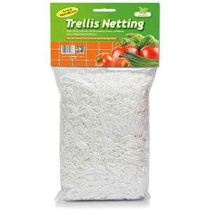 Heavy-Duty Polyester Plant Trellis Netting 5 x 15ft 1 Pack