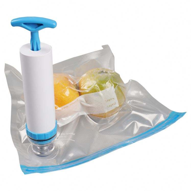 Home Kitchen High quality Hand help Vacuum Bag Sealer For Food Storage Keep Fresh Easy Operating Manual Air Pump Airproof