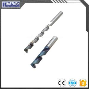 Haffman Carbide Drills Quick Drill 12XD with Internal Coolant Drill Bit Set