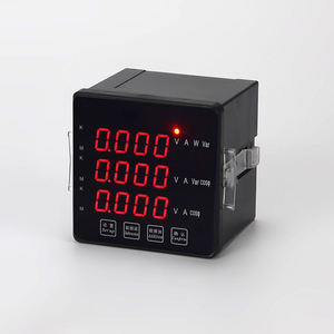 3 fase ac 1000 v dc 4 digitale led multi panel meter 0 300 v 400 v 500 v 10000 v voltmeter ac 0-500 v 220 v & ampèremeter lcd display