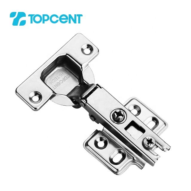 Topcent 35mm two way spring metal self closing concealed cabinet door hinge