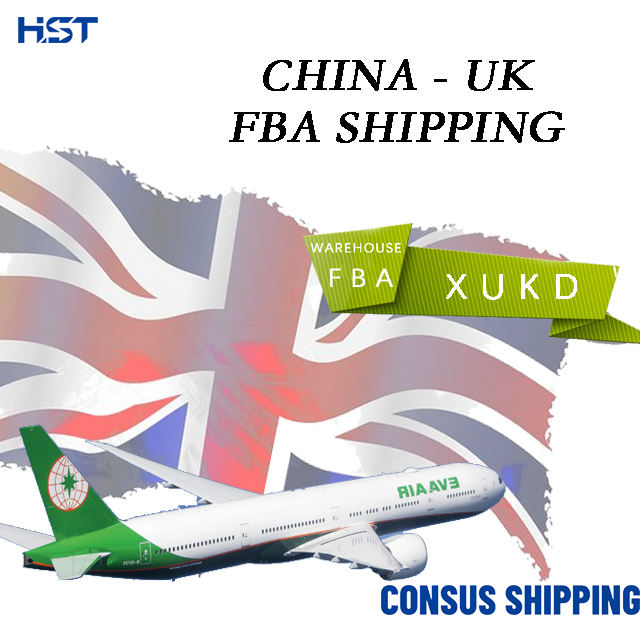 Cheap Logistics Fee Amazon FBA XUKD Freight Forwarder Air Costs To UK Cargo Shipping