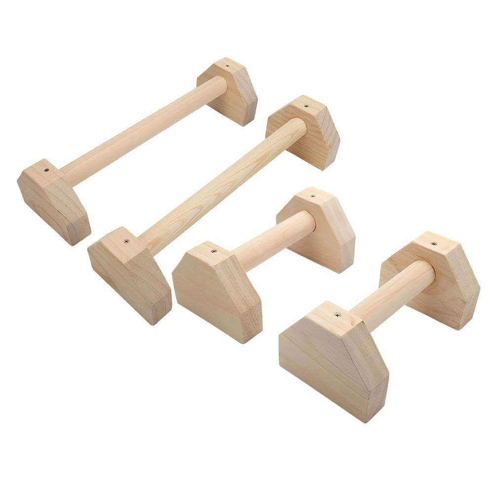 1 Pair Of Russian Style Stretch Stand Single Double Bars Calisthenics Handstand Personalised Bars Wooden Push-Ups Double Rod