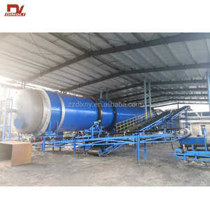 Henan Dingli Group Small Indirect Heat Transfer Steam Rotary Dryer