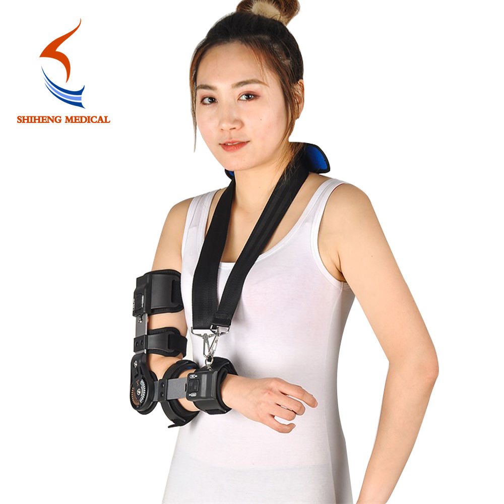 Medic Arthritis Elbow Brace Orthopedic Hinge Elbow Arm Support Brace