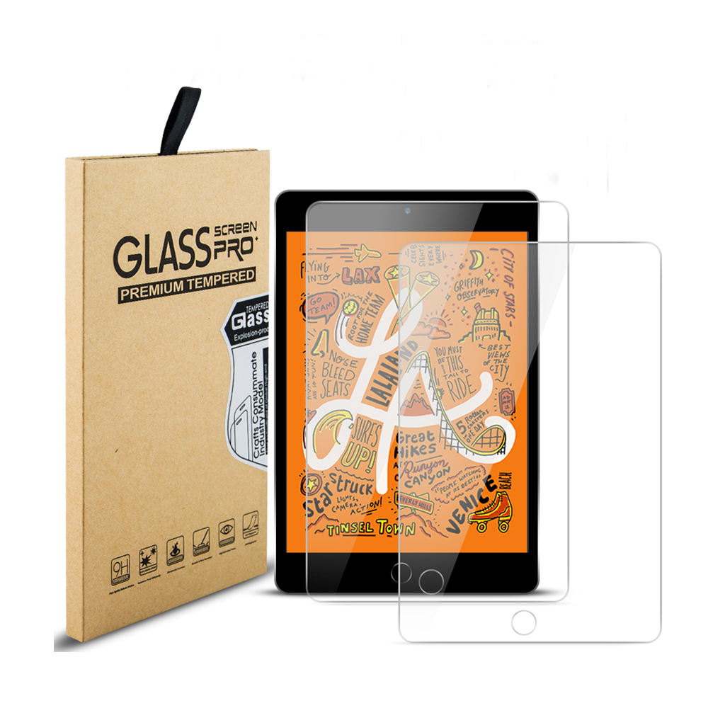 Tablet Tempered glass manufacture for iPad 10.2 inch 2019 clear screen protector film