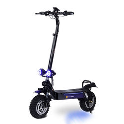 Freego Model ES-11D Big Led Light 11-inch Off Road 2000W Engine 48V 20Ah Battery Two wheel High end electric scooter