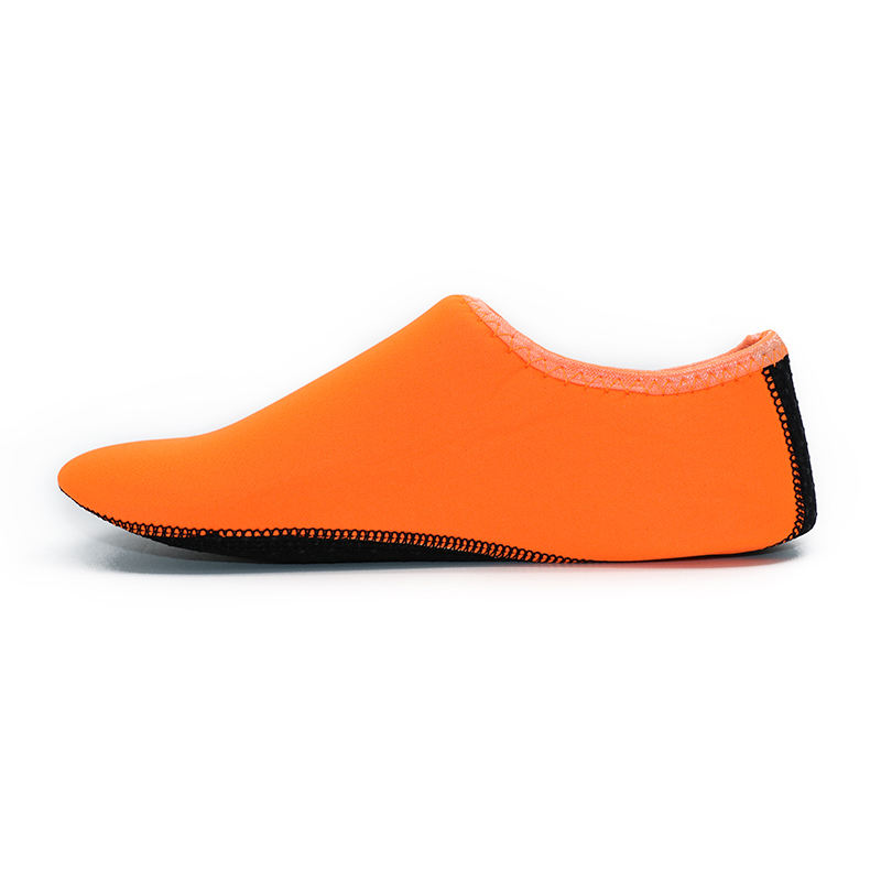 Modern Pop PVC Summer Outdoor Orange Casual Wading Beach Shoes