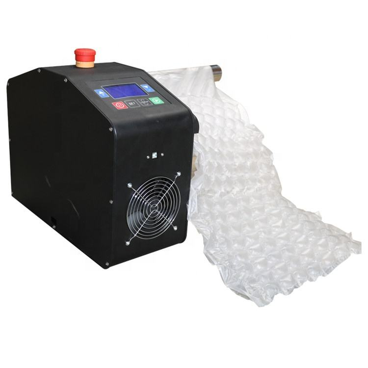 Versatile Film Option Air Pouch Machine Air Bubble Roll Packing Machine For Shipping Air Pillow Packaging