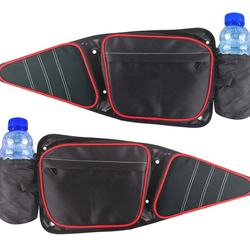 UCEDER 1 Pair Side Door Bags fits Polaris RZR XP 4 1000/ Turbo/S4 1000 Off Road Pair Knee Pad