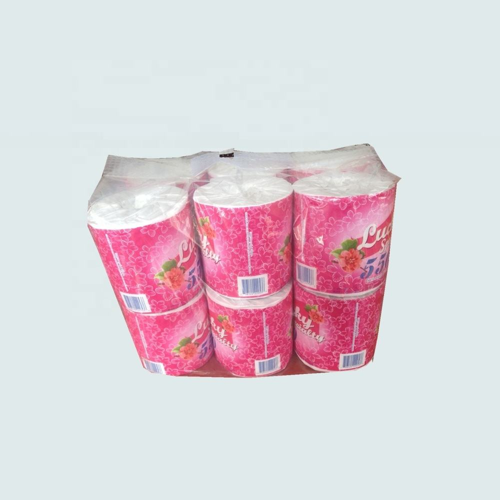 2020 Hot Sale Toilet Tissue Roll recycled virgin wood pulp toilet paper papel higienico