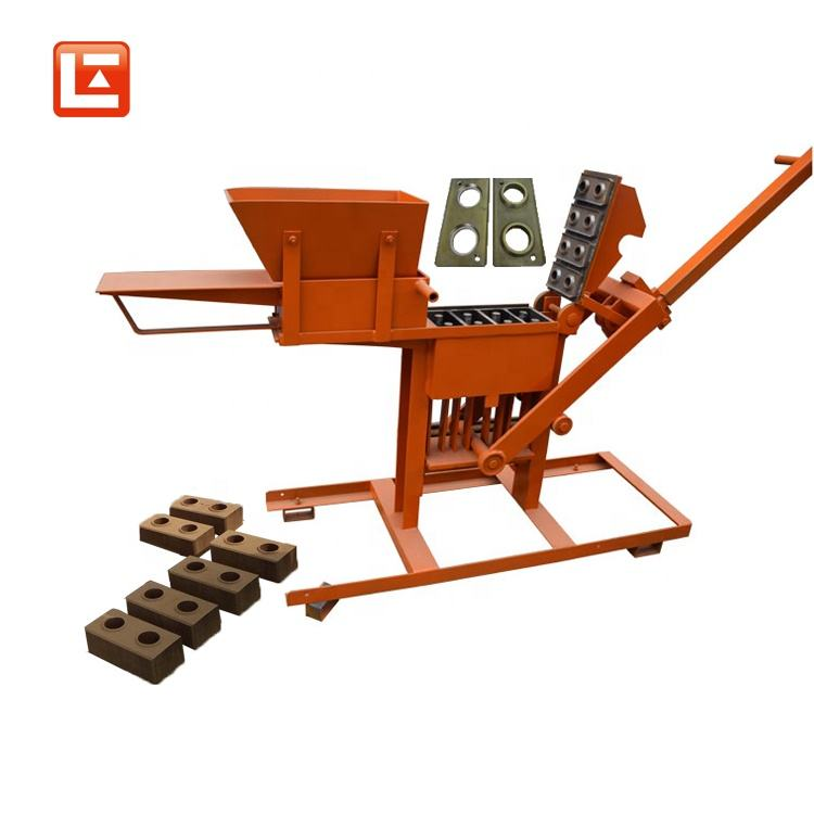 2 - 40 interlocking clay press brick making machine / interlocking block molds making machine in india tamil nadu