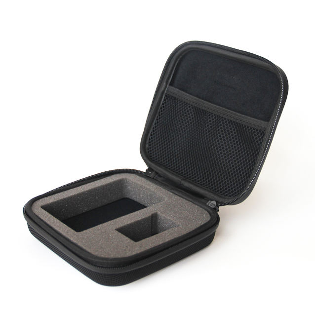 Durable and easy carrying zipper close eva case for GPS, waterproof electeonics eva case