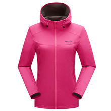 Wholesale outdoor OEM waterproof softshell jaket women waterproof softshell jacket