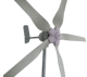 2kw permanent magnet wind turbine generator 48V/96V for land and boat, CE certification horizontal wind power generation