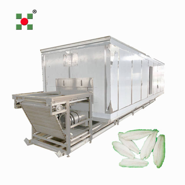 fish seafood quick freezing processing iqf tunnel freezer equipment/fish fillet freezer/blast IQF equipment