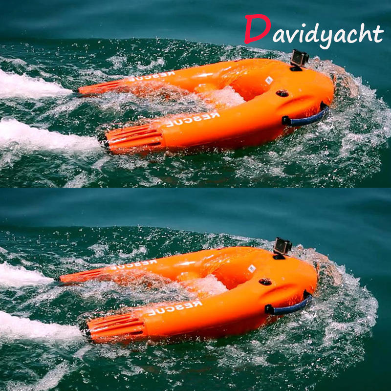 Surfboard floating board underwater motor sea scooter small water propeller Unmanned robot Emergency rescue equipment use