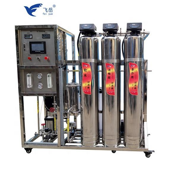 500LPH 10000LPHChinese full automatic ro drinking purified water machine price/pure water machine/mini mineral water plant