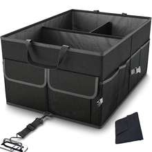 Heavy Duty Collapsible Cargo Storage Foldable Cover Lid Car Boot Organizer Car Trunk Organizer