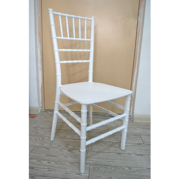 PP material available plastic chivalry wedding chairs