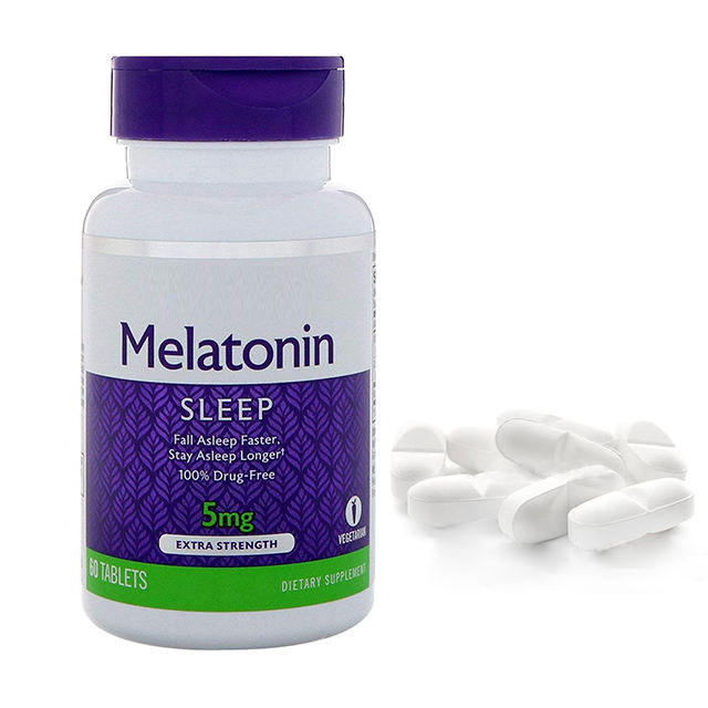OEM/ODM Extended Release Tablet Melatonin tablets