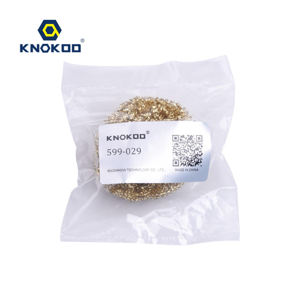 Metal Wire Set Welding Desoldering Soldering Solder Iron Tip Dross Cleaner Cleaning Steel Ball Mesh Filter Tin Remove