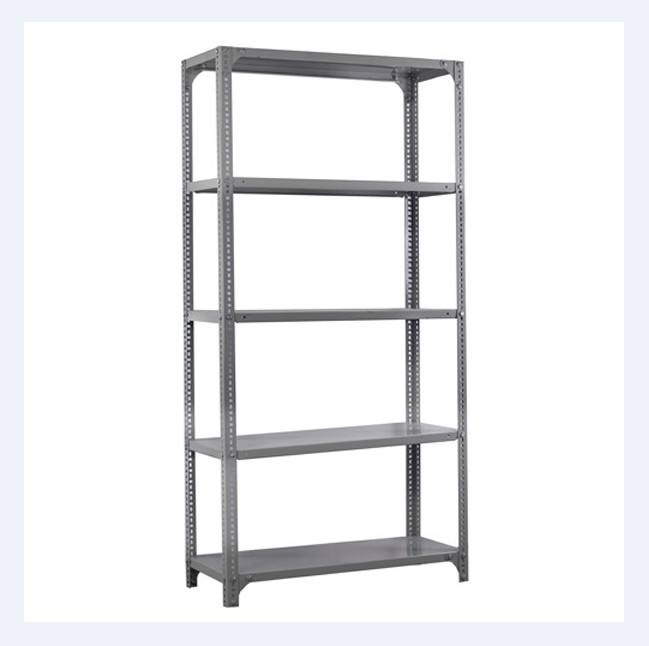 Warehouse Slotted angle metal racking for home and garage storage
