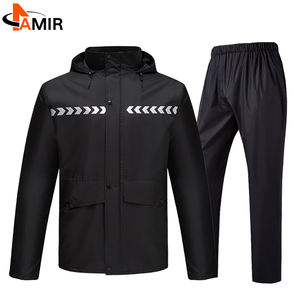 Breathable ripstop waterproof 190t nylon fabric rain suits