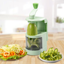 Hot Selling Multifunctional Spiral Fry Cutter vegetable spiralizer
