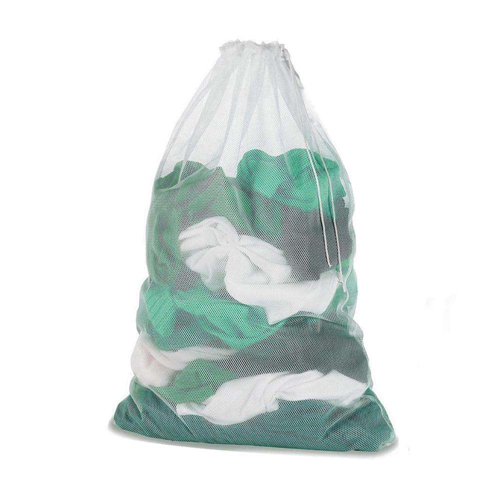 Wholesale Washing bag with drawstring 24x36in net bag large laundry bag for washing machine