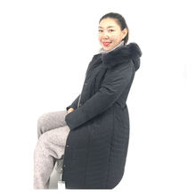 Manufacturers selling coat women hooded slim fit large brand winter women warm cotton jacket for plus size