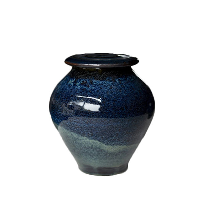 Handmade Galaxy Ceramic Cremation Memorial Ashes Urn Products For Pet Human