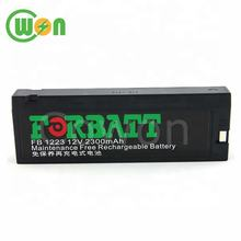 12V 2300mAh Rechargeable Replacement Battery for FORBATT FB 1223 for Mindray PM8000 PM9000 mec1200 mec2000 MEC1000