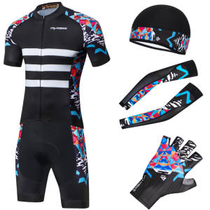 cycling wear set summer Cycling jersey set bicycle shorts cycling clothing set