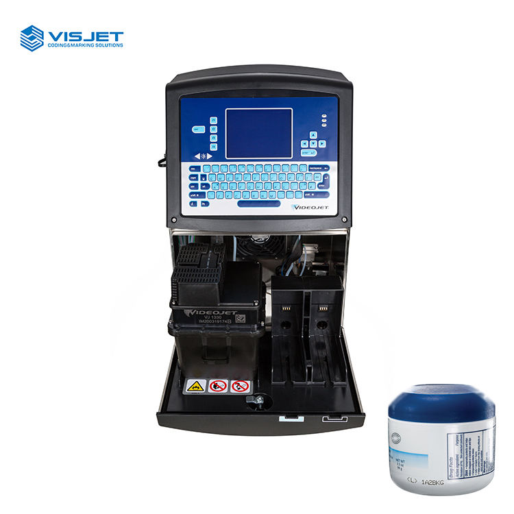 Durable Portable Automatic Spray cij Continuous Inkjet Printer Coding Machine