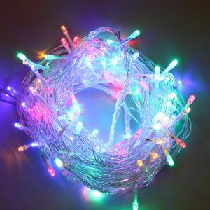 Linkable 120V 240V Christmas Fairy Led String Lights Decoratie 10m voor Wedding Party Holiday Xmas Boom Verlichting