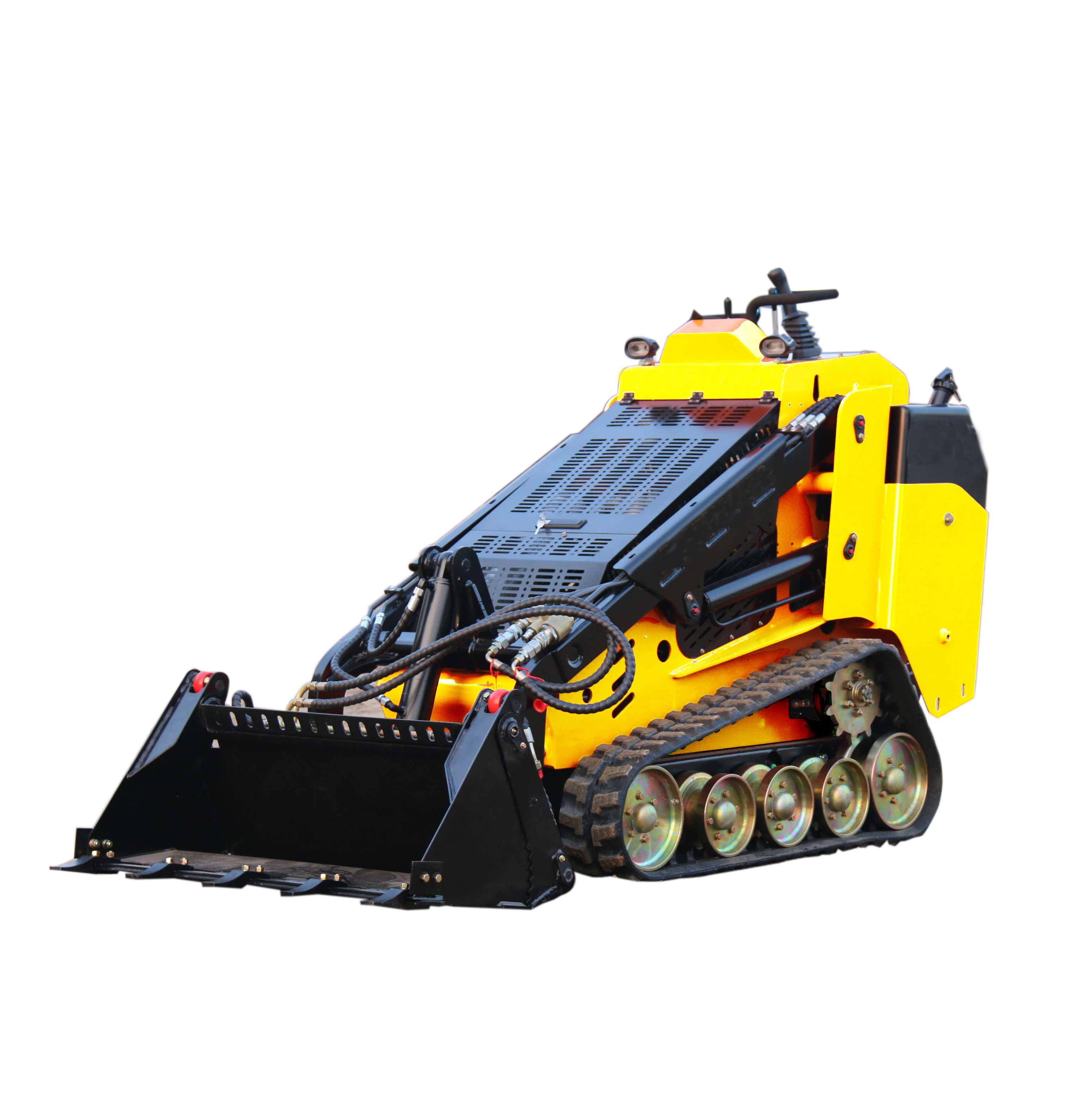 CHINA hengtian 30HP TY marca new mini skid steer loader motor diesel como boxeador toro loader