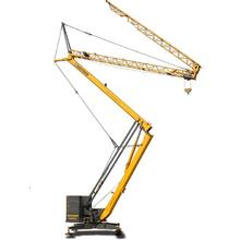 Cheap 1Ton  Foldable Mobile Crane JFYT1720-10 Small E-recting Tower Crane for Building Construction