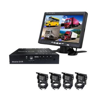 2019 hot selling AHD 1080P 4 channel mobile car DVR