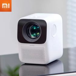 XIAOMI Wanbo T2 Max 1080P Smart Mini Projector Support tv 4k Android Wifi Home Cinema Bluetooth LED Projector Global Version