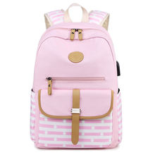Stock 2020 Trending  Outdoor Travelling High Quality School Student Kids Girls Backpacks Fashion Lady Bags Duffle Bag Backpack