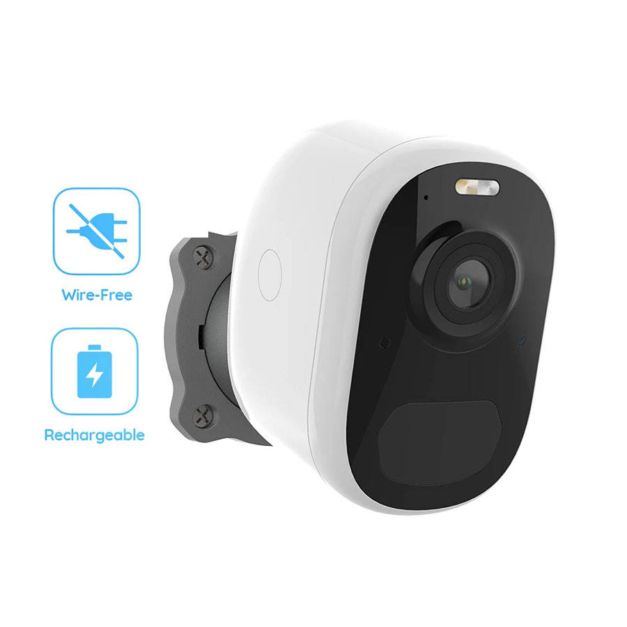 Factory direct cctv camera 1080P hd smart wifi outdoor wireless ip cameras with rechargeable battery powered