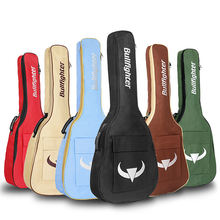 41 Inch Acoustic Guitar Bag 8mm Thick Padding Waterproof Dual Adjustable Shoulder Strap Guitar Case Gig Bag