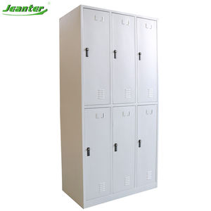 Cheap Durable Student Used Gym School Steel Metal Wardrobe Locker