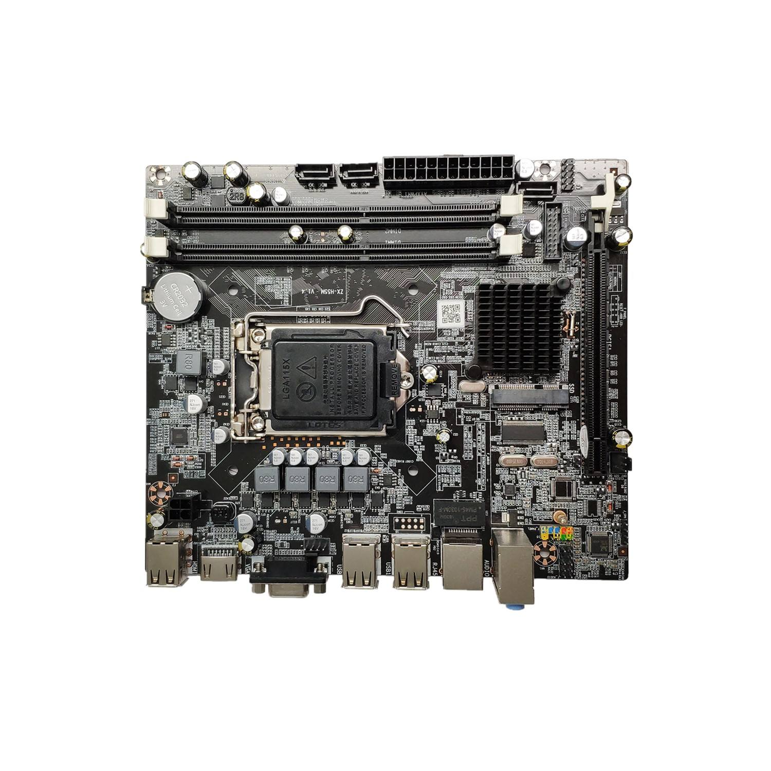 Hight Quality For Asus H55/USB3 Desktop Motherboard H55 LGA 1156 DDR3 ATX 100% Fully Test