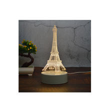 Hot sale acrylic plate 3D Led table lamp 3D led night Light, 3d illusion night light lamp,led 3d night light lamp