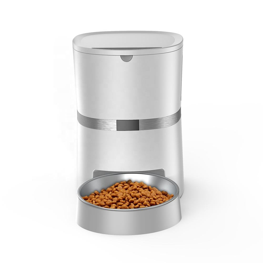 Hot Sale Automatic Pet Feeder Auto Pet Food Dispenser with Stainless Steel Food Bowl Designed for Cats and Dogs